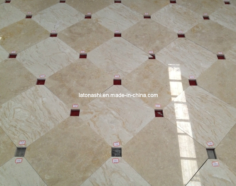 Natural Polished Granite Marble Stone Floor Tile for Flooring / Wall
