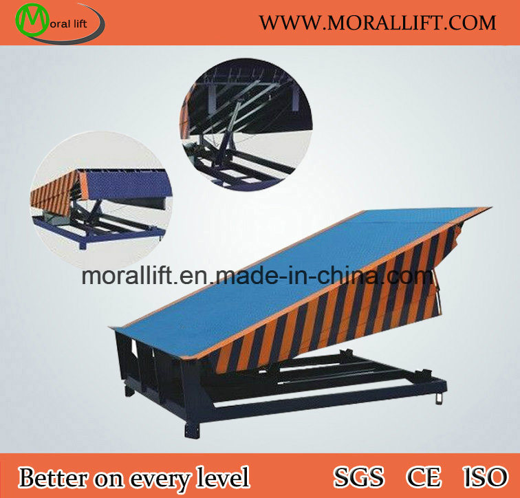 Stationary Dock Leveler for Container Use