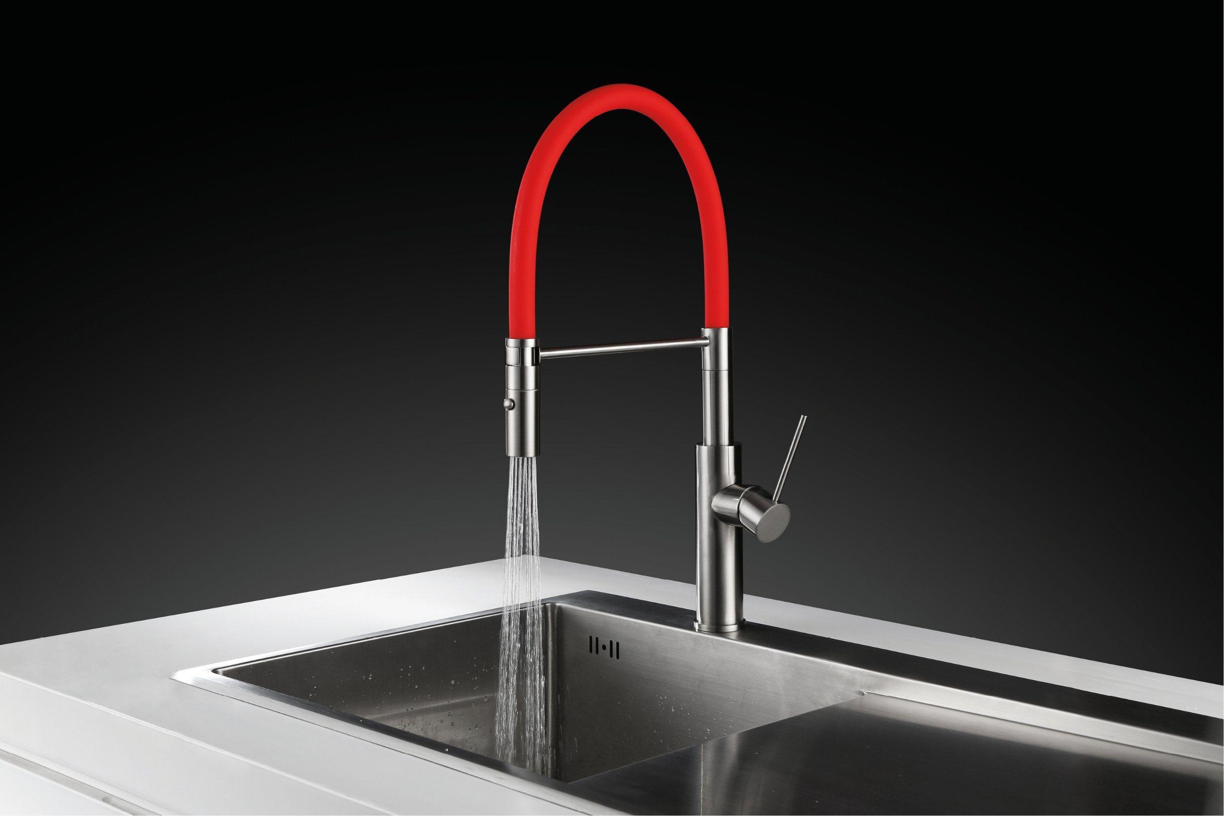 High Quality Rubber Spout Kitchen Sink Faucet