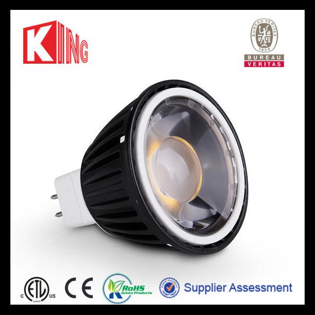 MR16 Gu5.3 LED Lamp 12V 3W/4W/5W/7W (KING-MR16-COB-3A)