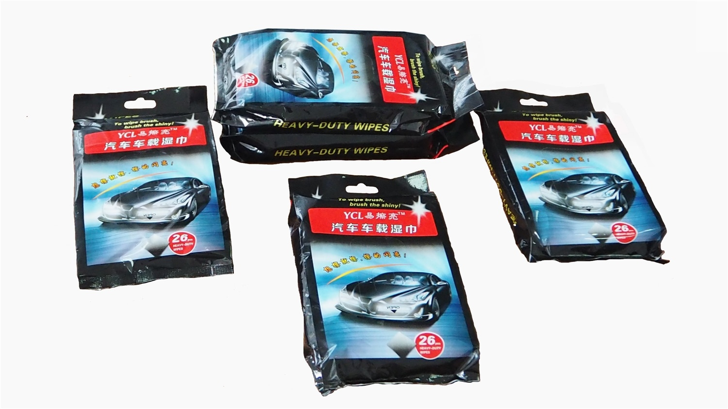 Multi-Surface Wet Wipes Car Glass Cleaning Wet Wipes