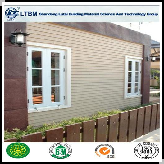 High Quality Wood Grain Fiber Cement Plank Siding