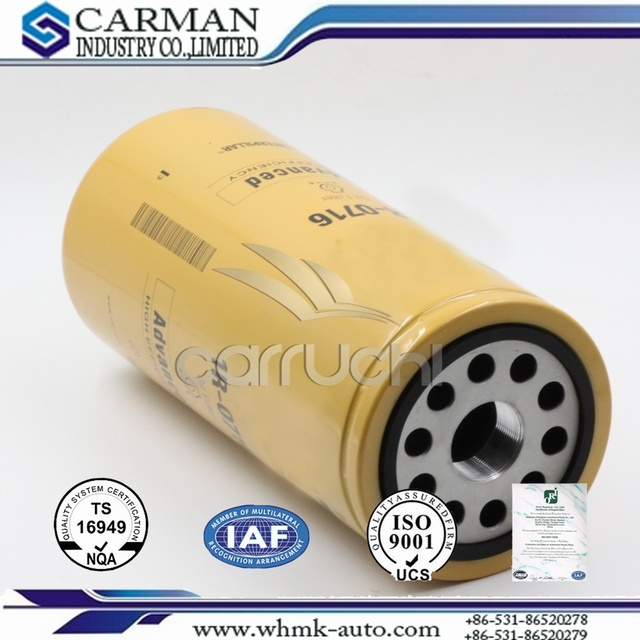 Oil Filter Replacement 1r0716 for Construction Machinery, for Auto Parts