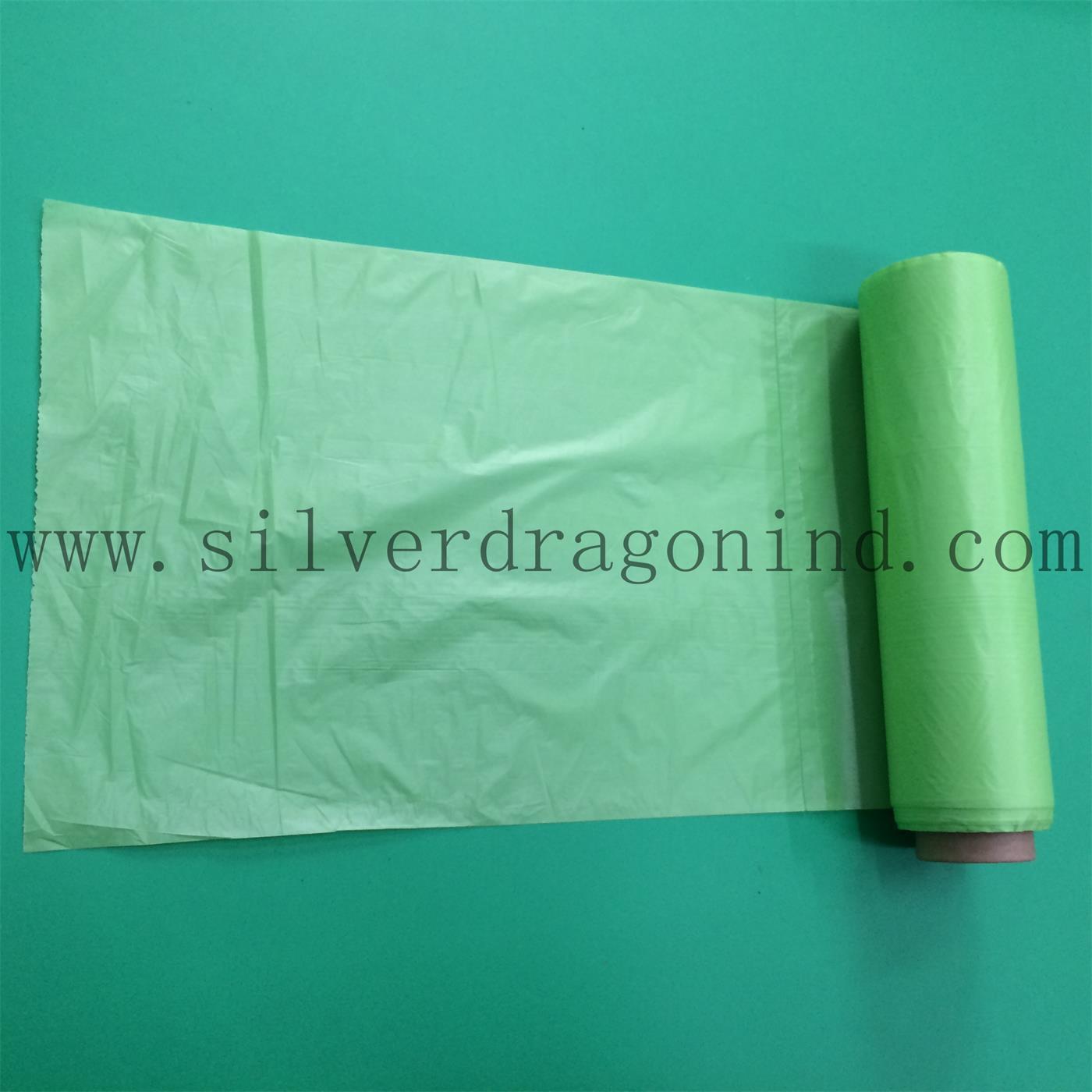 Eco-Friendly LDPE Plastic Trash Bags on Roll, Garbage Bag