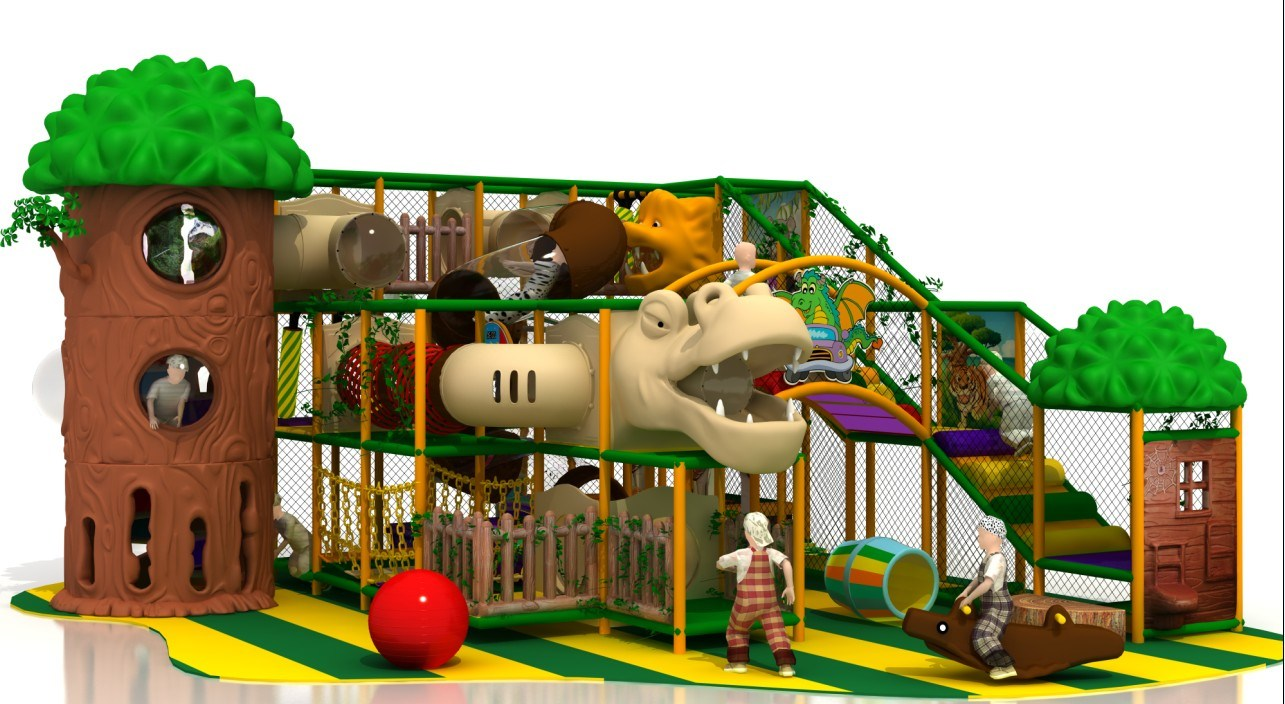 China kids amusement equipment commercial indoor for Best indoor playground for toddlers