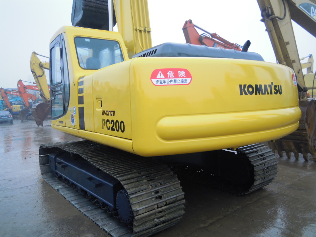 Second Hand Komatsu Used Crawler Excavator PC200-6 Hydraulic Excavator