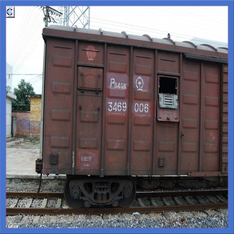 Transportation by Train From China to Tashkent, Kasakhstan