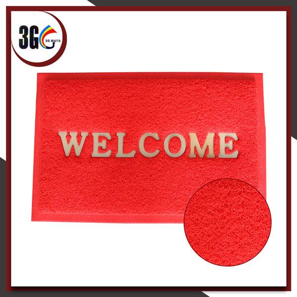 Waterproof PVC Coil Welcome Doormat