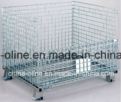 Stackable Storage Metal Wire Mesh Container