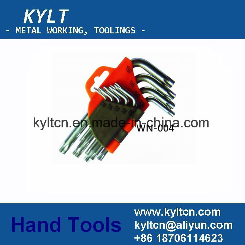 High Quality OEM L/T Type Hex Wrench, Hex Allen Key Spanner