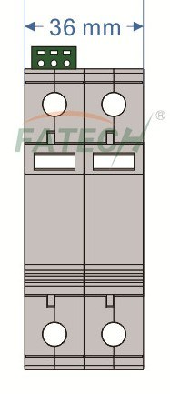 Low Voltage Surge Arrester / PV Surge Protector (500vdc, Imax 40kA)