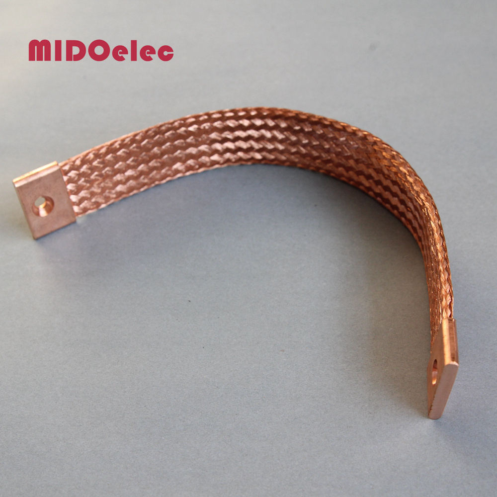 High Quality Copper Flexible Jumper Braided Connector