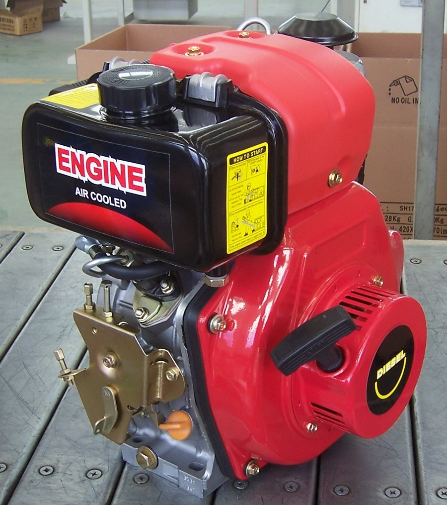 Italy Type Single Cylinder Diesel Engine Td170fi