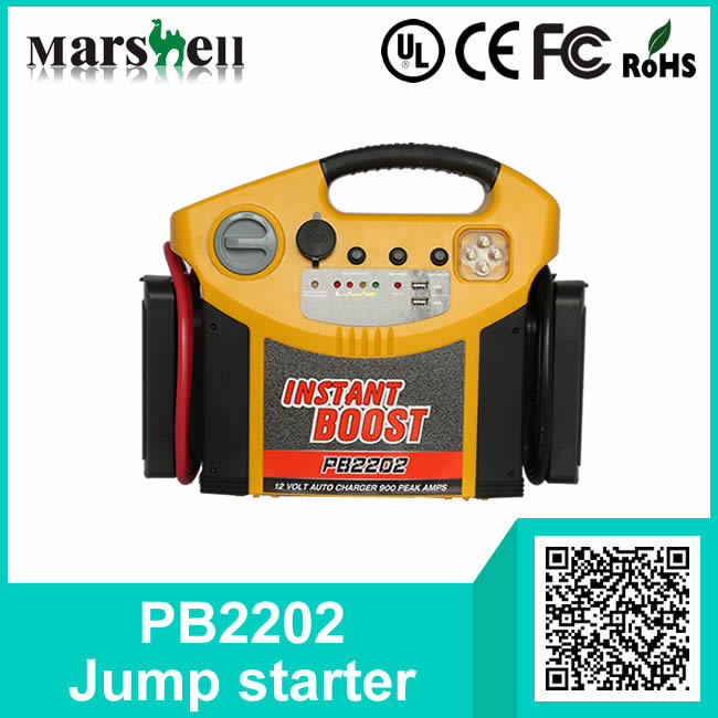 Popular Instant Jump Starter with Air Compressor or Power Inverter