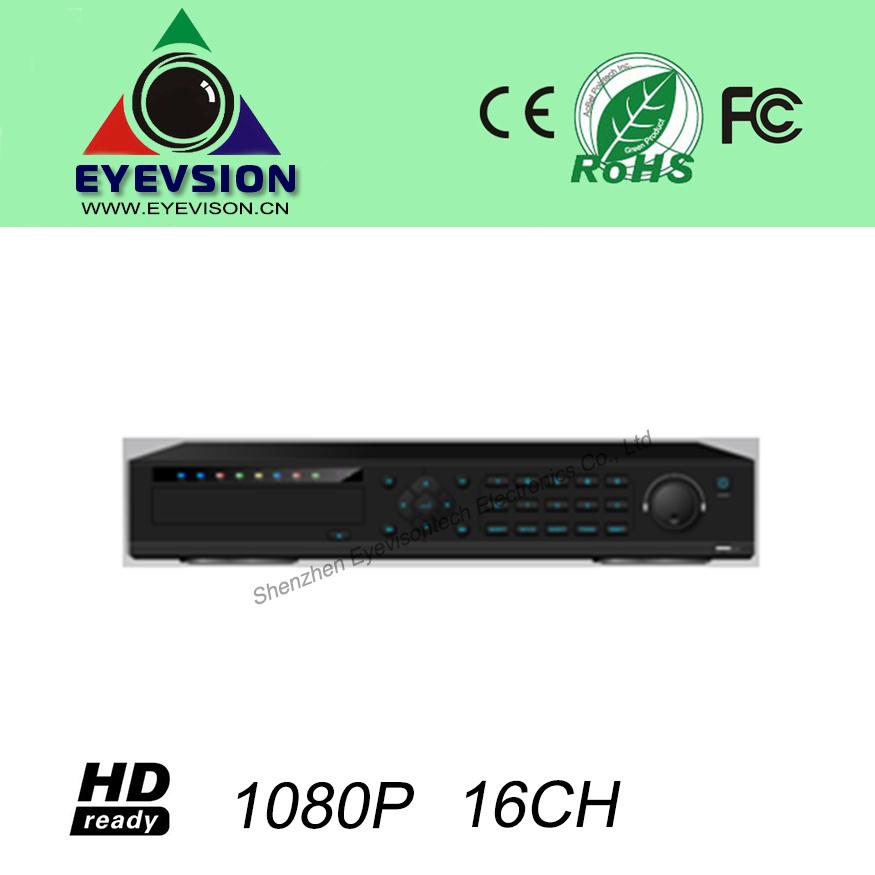 16CH H. 264 HD (1080P) IP Security Camera NVR (EV-CH16-H1407B)