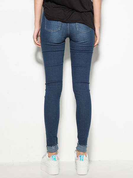 Factory Wholesale Women Denim Jeans Fashion Skinny 2017 Jeans