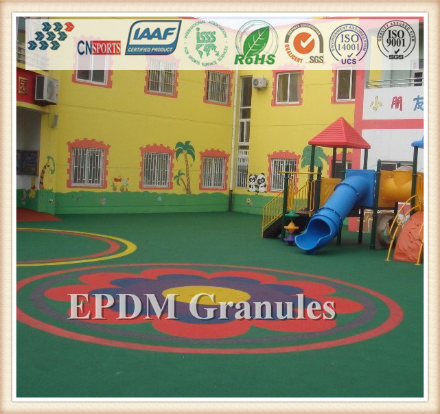 Excellent Quality Wear-Resistance EPDM Granule for Running Track