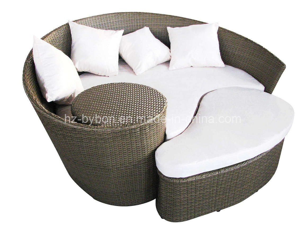 China PE Rattan Outdoor Daybed Lounger C 025 China Daybed Daybed Sofa