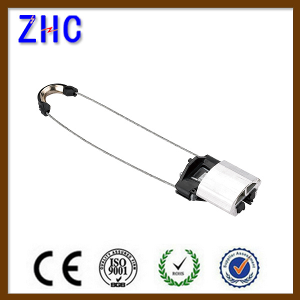 High Voltage Overhead Line Clamp for Optical Fiber Used