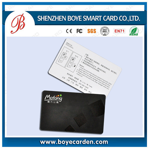 Printable Plastic Key Smart Card for Access Control or Attendence