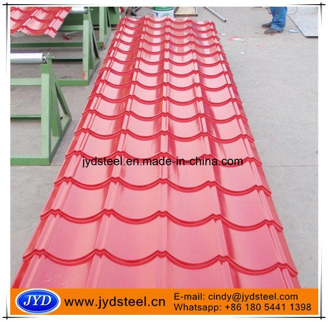 Color Glazed Metal Roof Tile