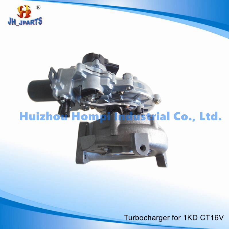 Turbocharger for Toyota 1kd-Ftv CT16V 17201-0L040 2kd-Ftv/1CD-Ftv/1vd-Ftv