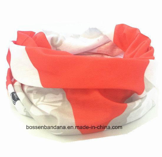 Custom Made Design Printed Elastic Microfiber Promotional Sports Tubular Buff Headband
