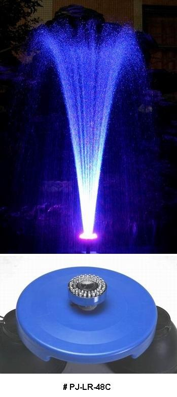 water fountain pj lr 48c china garden light underwater light