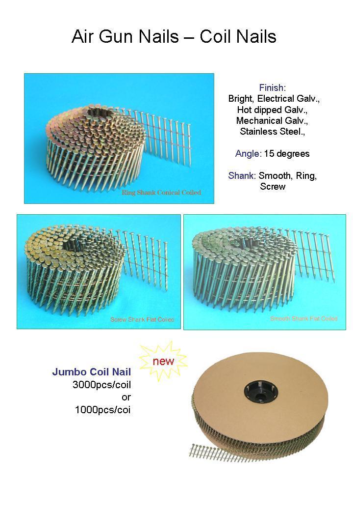 Coil Pallet Nails