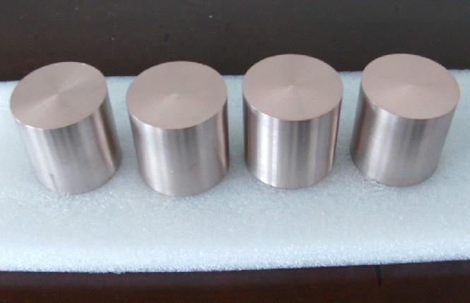 Polished Tungsten Copper Alloy Wcu Rod W80cu20 Density: 15.2g/cm3