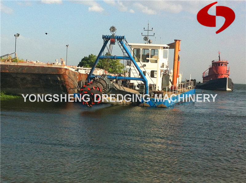 Cutter Suction Sand Dredger with Dredge Depth 15m