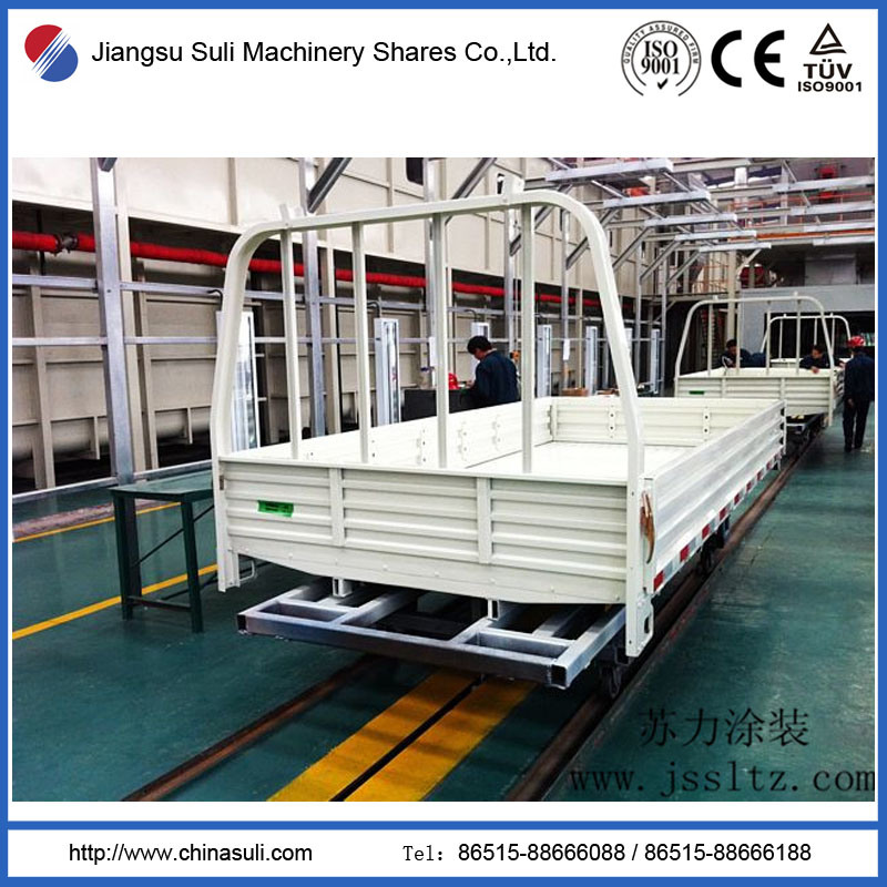 Pretreatment Car Repair Zone Automatic Electrophoresis Coating Line