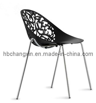 High Quality Modern Design Plastic Dining Chair (CX-9048)