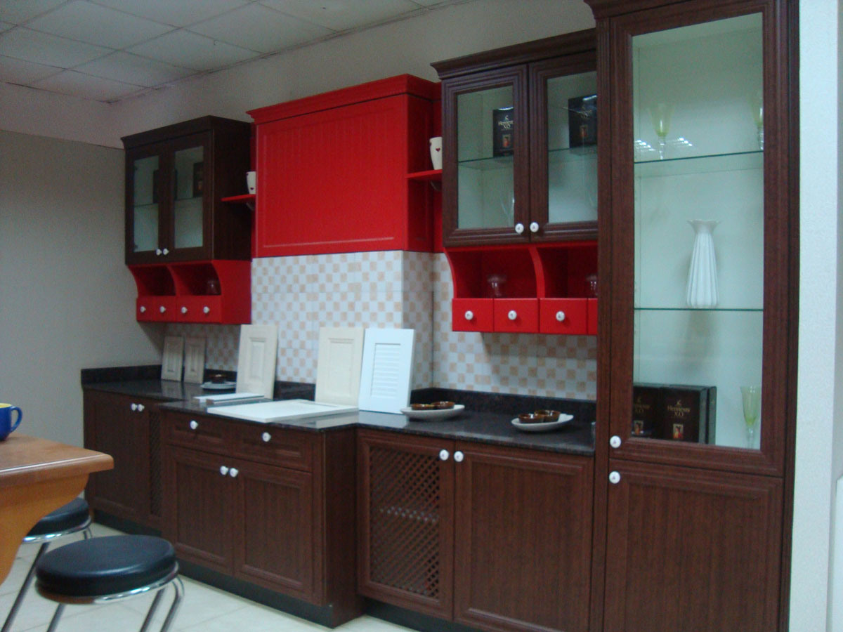China Mdf With Pvc Foiling Kitchen Cabinets Photos Pictures Made In