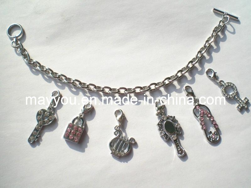 Fashion Jewelry -Metal Charm Bracelet