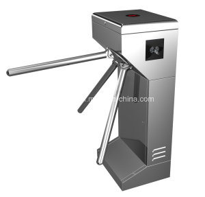 Access Control Vertical Tripod Turnstile Bidrectional Reading