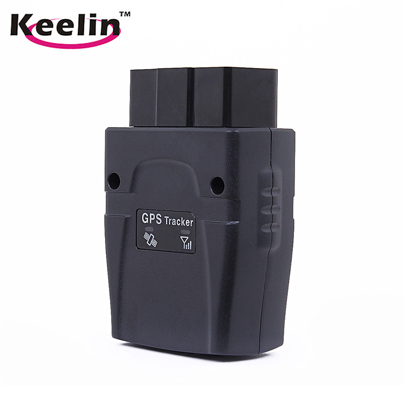 OBD Tracker, Plug out/Shift Alarm/GPS Chip/for Real-Time Car Fleet Tracking (GOT08)