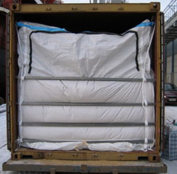 20ft 40ft PP Woven Dry Bulk Container Liner