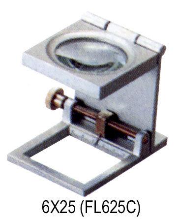 6x25 Foldable Readind Magnifier (FL625C)