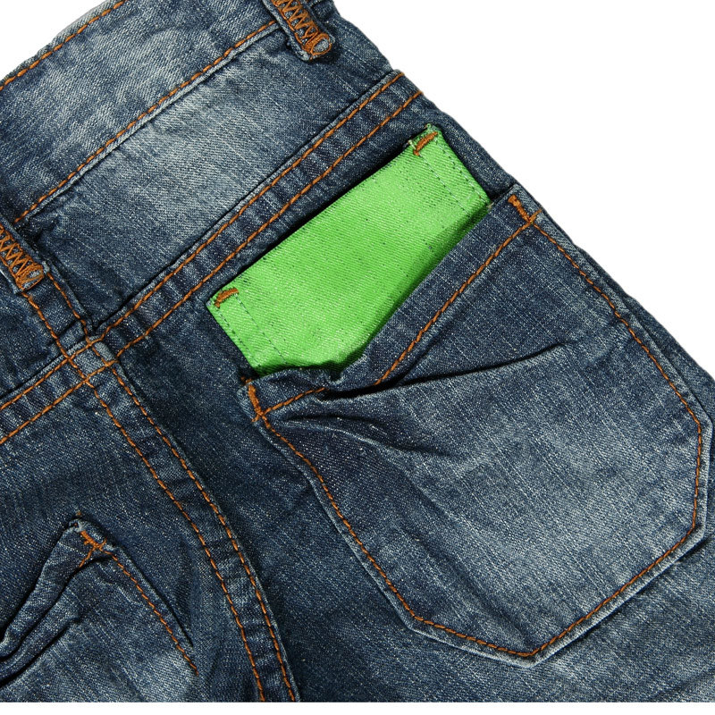 Boy's Jeans with Whiskers and Sandblast (15I3-113)