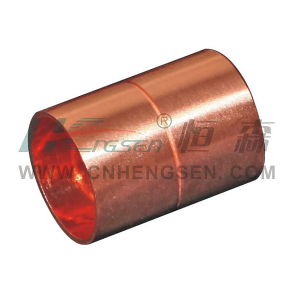 Coupling/Straight Coupling (2 port are inside diameter) Copper Fitting Pipe Fitting Air Conditioner Parts Refrigeration Parts Plumbing Parts