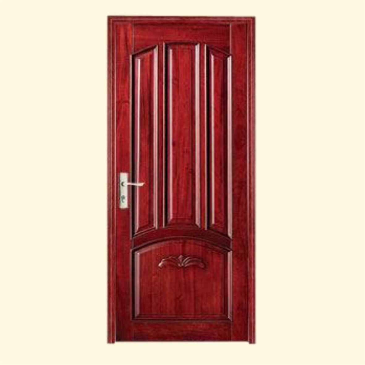 China luxury solid wooden door sh 008 china solid for Hardwood doors
