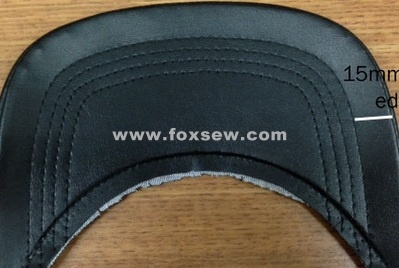 Automatic Pattern Sewing Machine for Caps Visor
