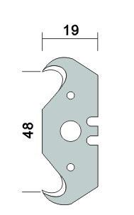 Auto-Lock Metal Knife (NC1502)