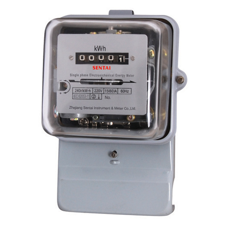 Single Phase Meter Mechanical : China single phase electromechanical energy meter dd