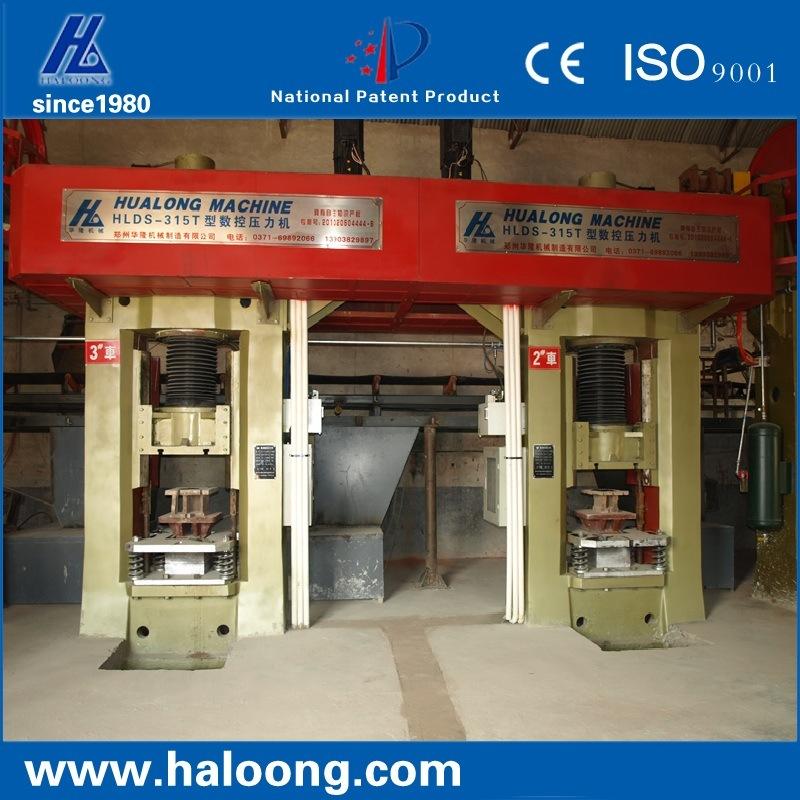 315 Ton Servo Feeding Control Electric Screw Refractory Press Machine