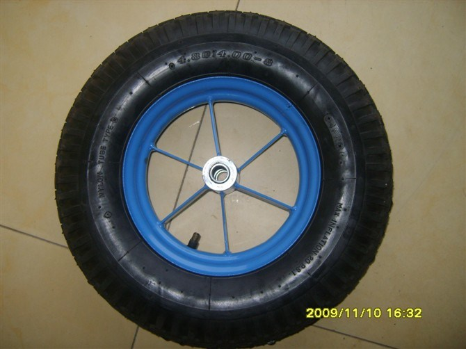 Rubber Wheel (400-8, 350-8)