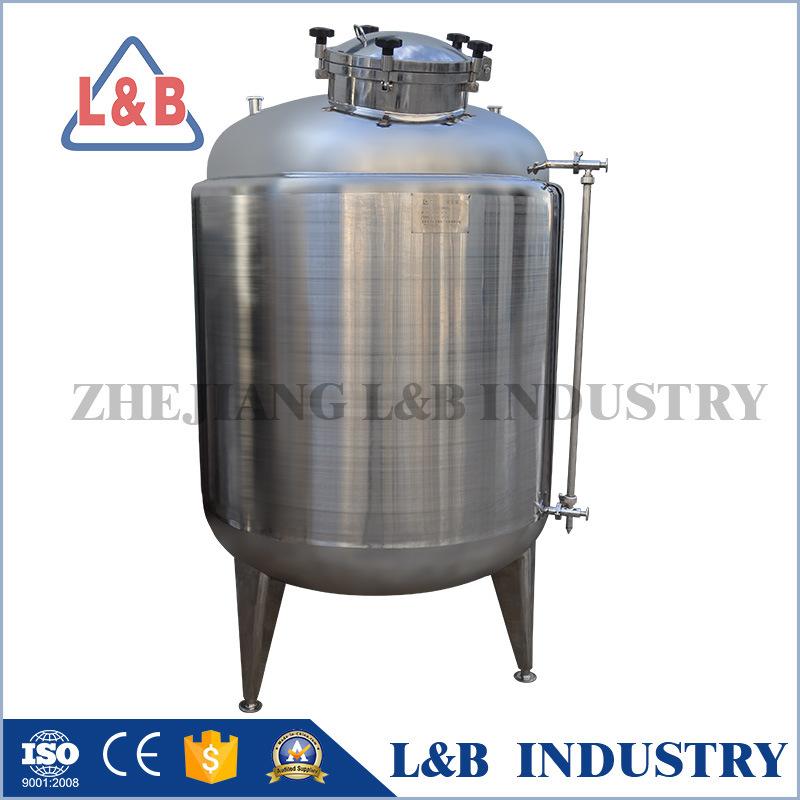 Vertical Stainless Steel Storage Tanks