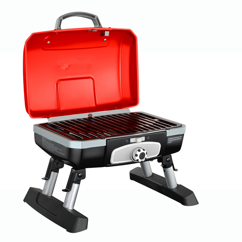 Outdoor Camping Use Portable Foldable Gas Grill BBQ