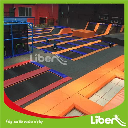 China Factory Made Gymnastics Trampolines Park